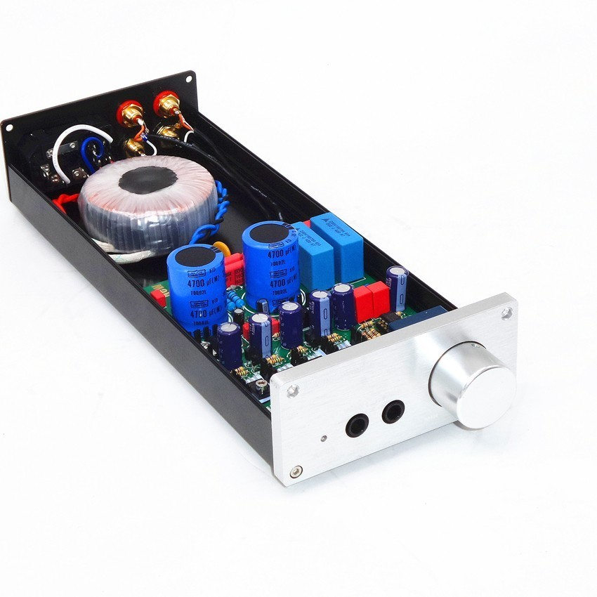 TIANCOOLKEI NB01 design originale Lehmann HD650 Professionale amplificatore per cuffie uscita Doppia con preamplificatore audio di uscitaTIANCOOLKEI NB01 design originale Lehmann HD650 Professionale amplificatore per cuffie uscita Doppia con preamplificatore audio di uscita