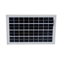 Hot 10W Solar Panel With 3A Controller And Battery Clips 10w 12v Solar System