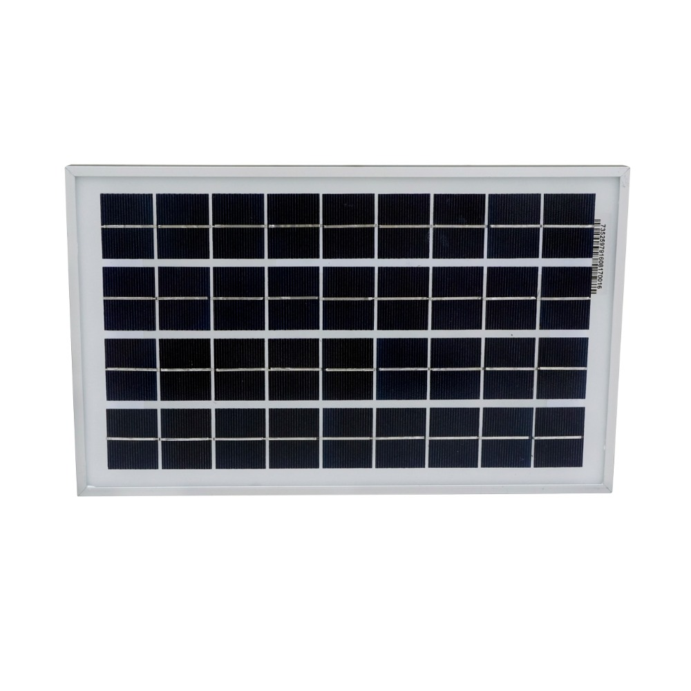 Фото Hot* 10W solar panel with 3A controller and battery clips, 10w 12v solar system