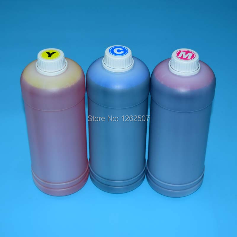 1000ml 4Color Water Based Dye Ink For HP Officejet Enterprise Colors 555 585 x555 x585 X555DN X555XH X585Z X585DN X585F Printers mutoh vj 1604w rj 900c water based pump capping assembly solvent printers