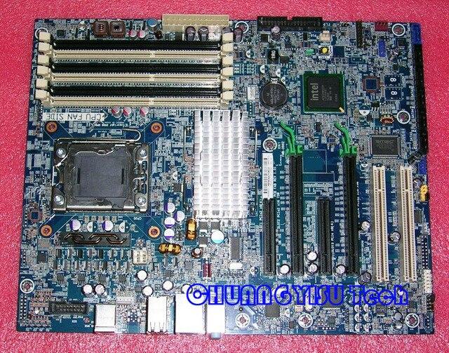 US $97 9 |Free shipping CHUANGYISU for original Z400 Workstation  motherboard,586968 001 586766 001 586766 002 Socket 1366,chipset X58 -in  Motherboards