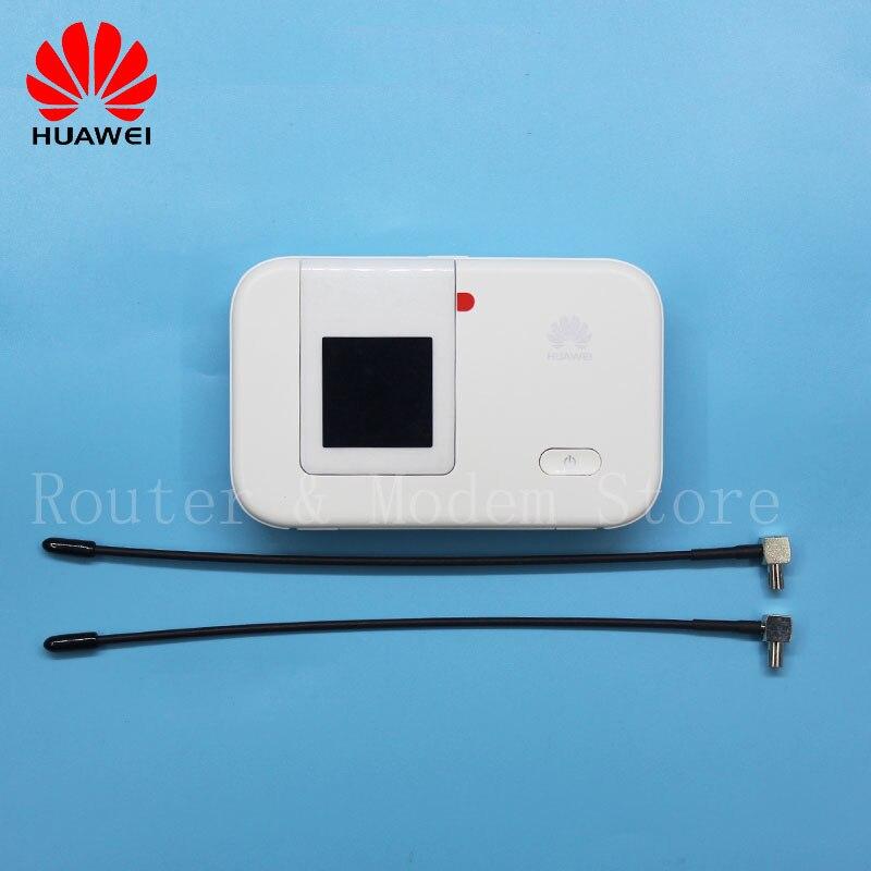 Débloqué nouveau LTE Mobile WiFi Hotspot 4G routeur Huawei E5372 E5372T avec antenne 150 Mbps poche WiFi routeur PK E5577