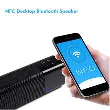 99.9% of people will love this bass bluetooth speaker 20W Subwoofer Loudspeaker Wireless NFC Column for desktop computer TV
