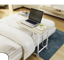 Simple bed mobile notebook computer desk contracted home secretary mobile nursing table