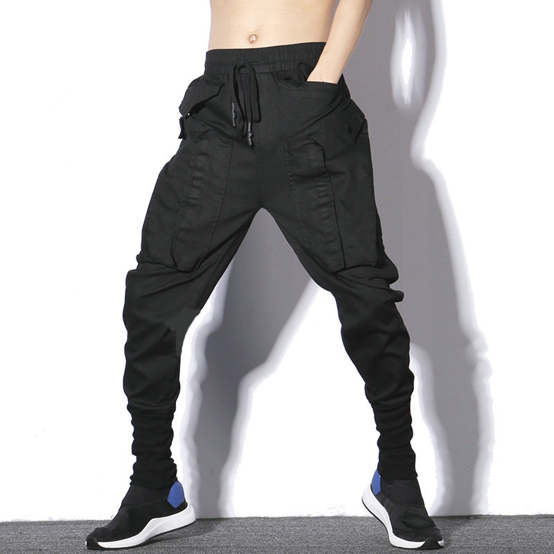 2020 Spring New Jogger Pants Men Hip Hop Black Sweatpants Casual Slim Mens Harem Pants