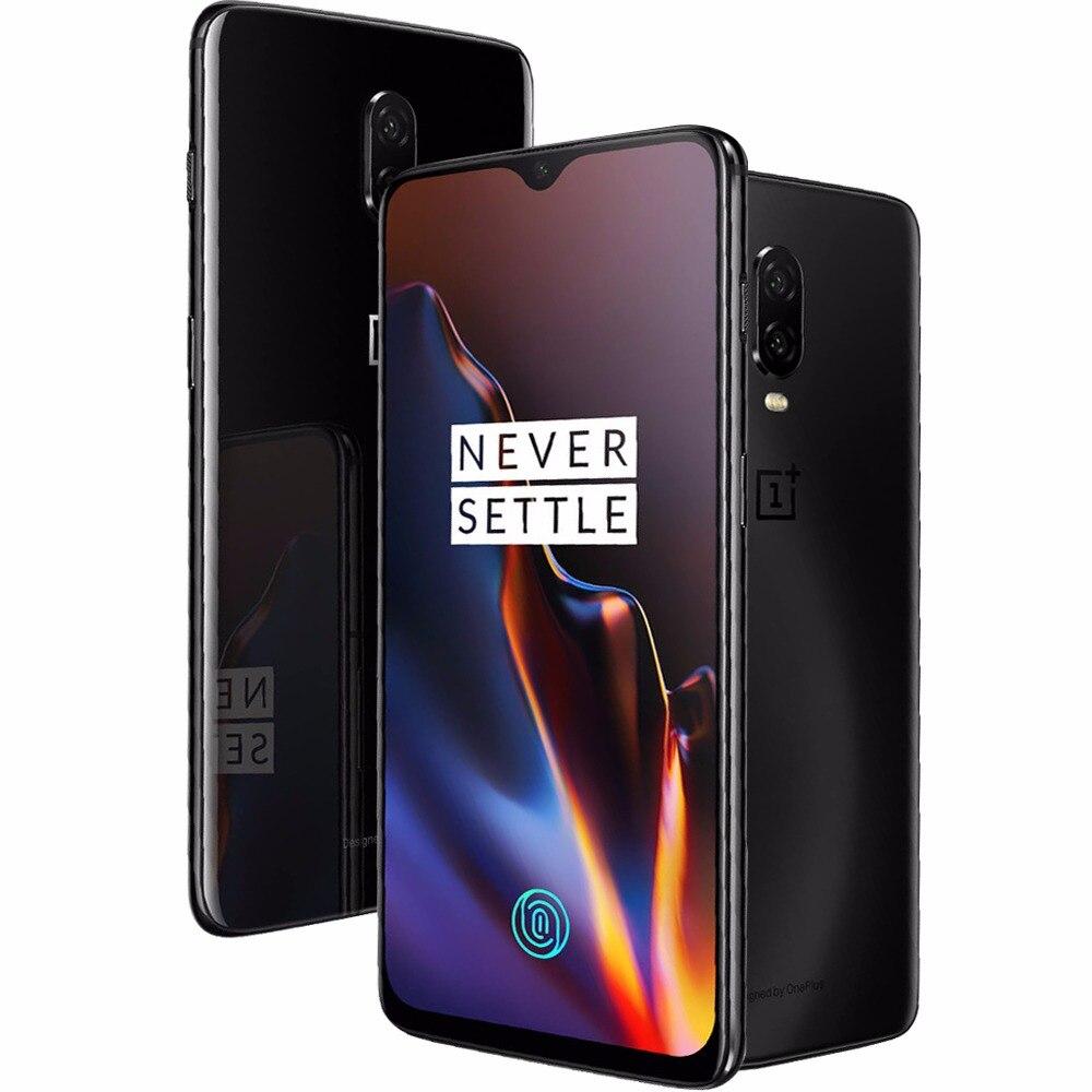 """D'origine Oneplus 6 t Mobile Téléphone 6/8 gb RAM 128/256 gb ROM Snapdragon 845 Octa Core 6.41 """"Double Caméra Écran Déverrouiller Téléphone Mobile NFC"""