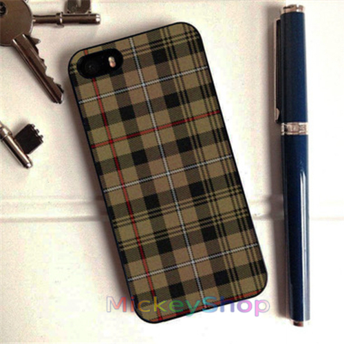 OUTLANDER font b TARTAN b font MACKENZIE fashion case cover cover for iphone 4 4s 5