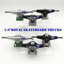 شاحنات ملكية أصلية مقاس 5.0 بوصة من الولايات المتحدة الأمريكية لممارسة رياضة التزلج مصنوعة من الألومنيوم لنوعين من شاحنات كامينهاو كايكاي