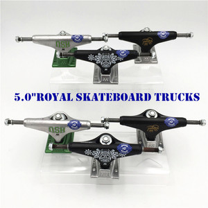 Image 1 - Original USA 5.0  inch Royal Trucks for Skateboarding made by Aluminum for 2 Types Caminhao trucks kaykay