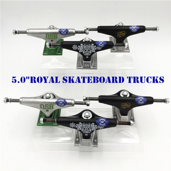 Original USA 5.0  inch Royal Trucks for Skateboarding made by Aluminum for 2 Types Caminhao trucks kaykay цена 2017