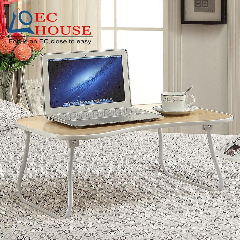 ФОТО The family metal notebook desk, comter on bed lazy folding table simple desk FREE SHIPPING