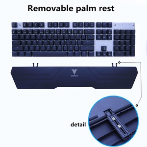 Image 4 - Bluetooth ワイヤレスゲーミングメカニカルキーボード LED RGB バックライト Teclado 抗ゴーストゲーマー電話 ipad PC ロシア語英語