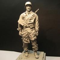 1/16 Resin Figure Soldier Model Tank Battle Soldier 1944 161