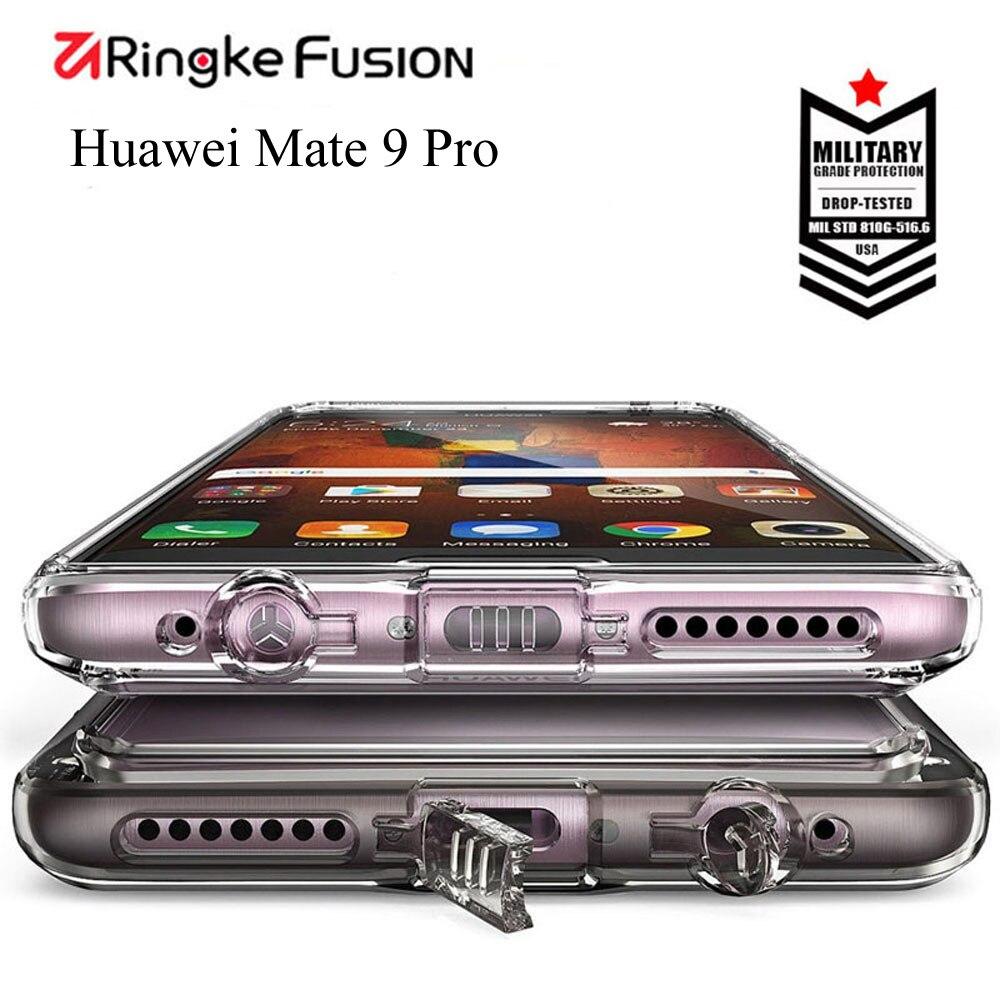 imágenes para Caja Del Teléfono Móvil Para Huawei Mate 9 Pro Fusión Ringke caso Marco de cristal Claro y Flexible para Huawei Compañero 9Pro