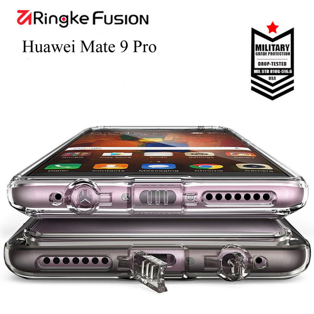 Ringke Fusion Phone Case For Huawei Mate 9 Pro crystal Clear Hard...