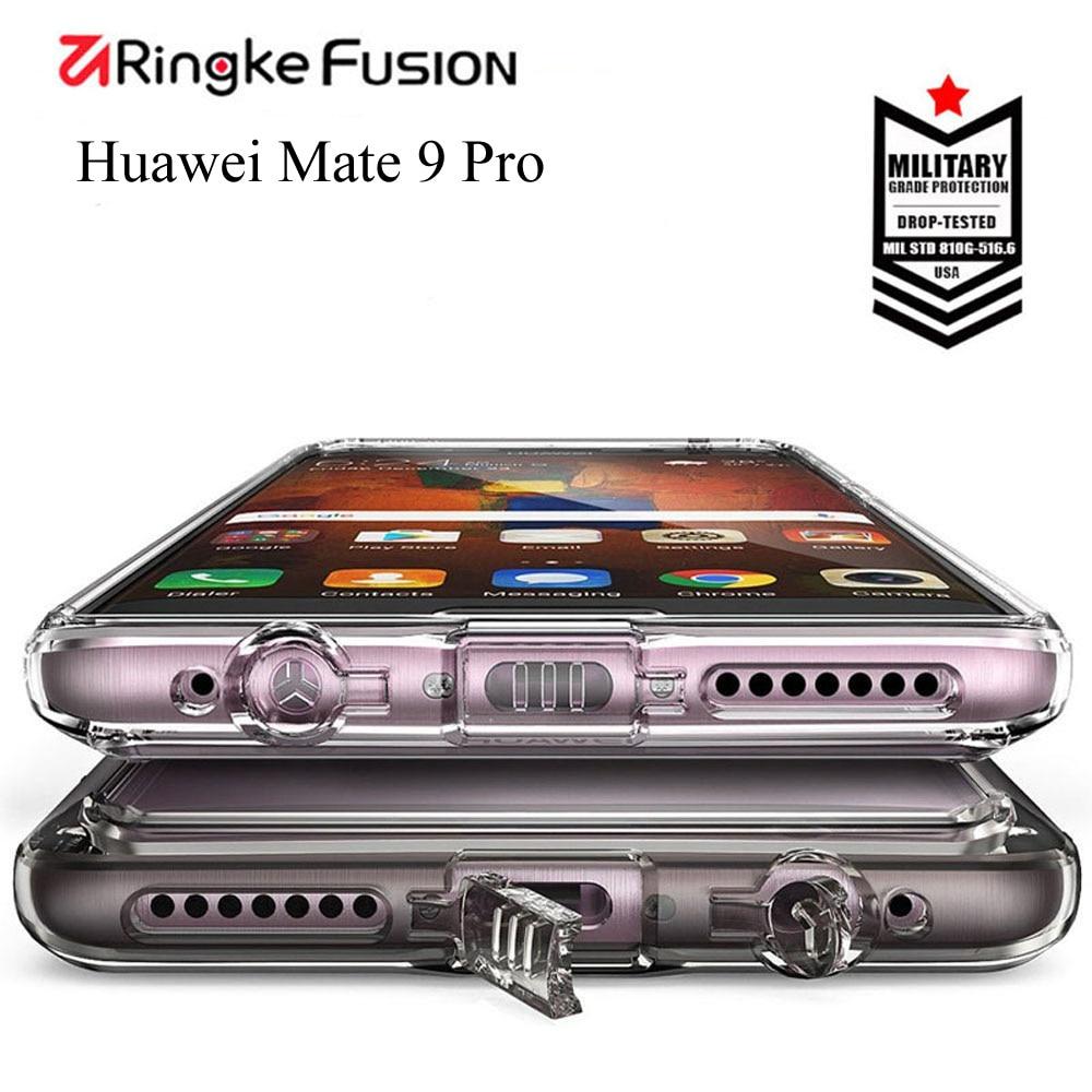 bilder für Ringke Handy Fall Für Huawei Taube 9 Pro Fusion fall crystal Clear Zurück und Flexible Rahmen für Huawei Kollege 9Pro