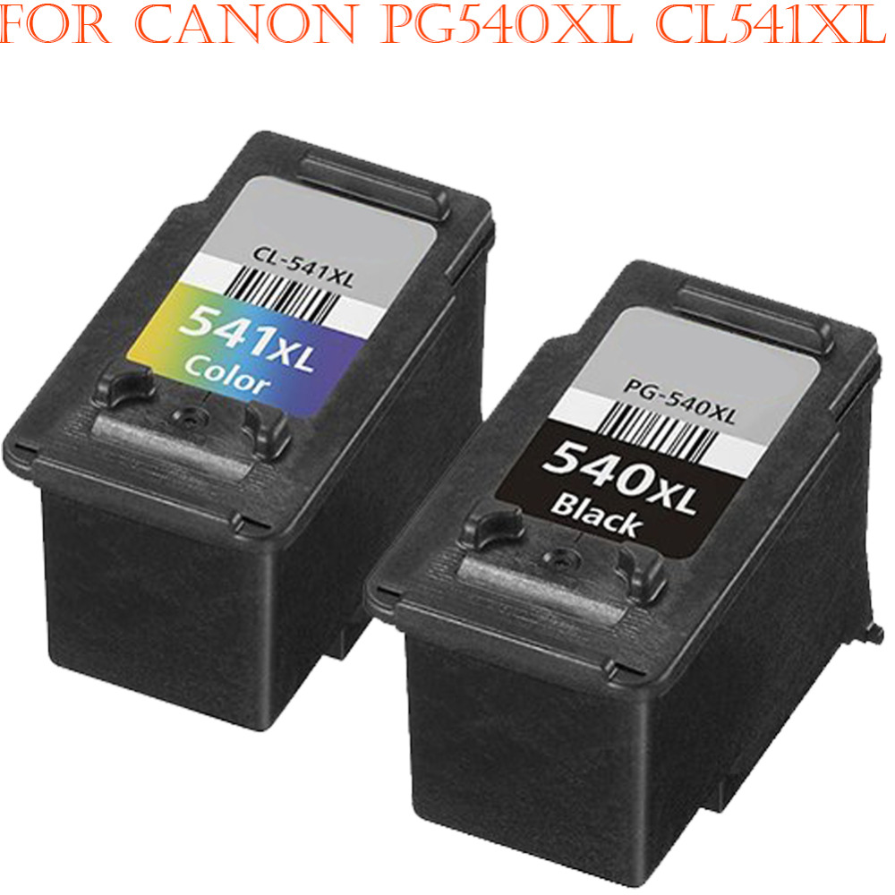 Hisaint Listing Best For <font><b>Canon</b></font> PG-<font><b>545XL</b></font> & CL-<font><b>546XL</b></font> Ink Cartridges (High Capacity) Hot For <font><b>Canon</b></font> PIXMA MX495 Printers 2PK image