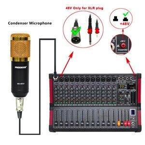 Image 5 - Freeboss MINI12 bluetooth記録 12 チャンネル (モノラル) 99 dspエフェクトusbの再生と録音機能プロフェッショナルオーディオミキサー