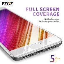 Pzoz xiaomi mi5s стекло закаленное полное покрытие премьер-экран протектор для xiomi mi 5S 64 ГБ ясно полный экран mi5 с пленки для стекла 5.15»