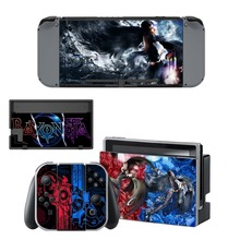 Nintendo Switch Vinyl Skins Sticker For Nintendo Switch Console and Controller Skin Set – For Bayonetta