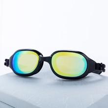 Очки для плавания унисекс покрытие водонепроницаемые противотуманные плавательные очки с УФ-защитой очки для вождения