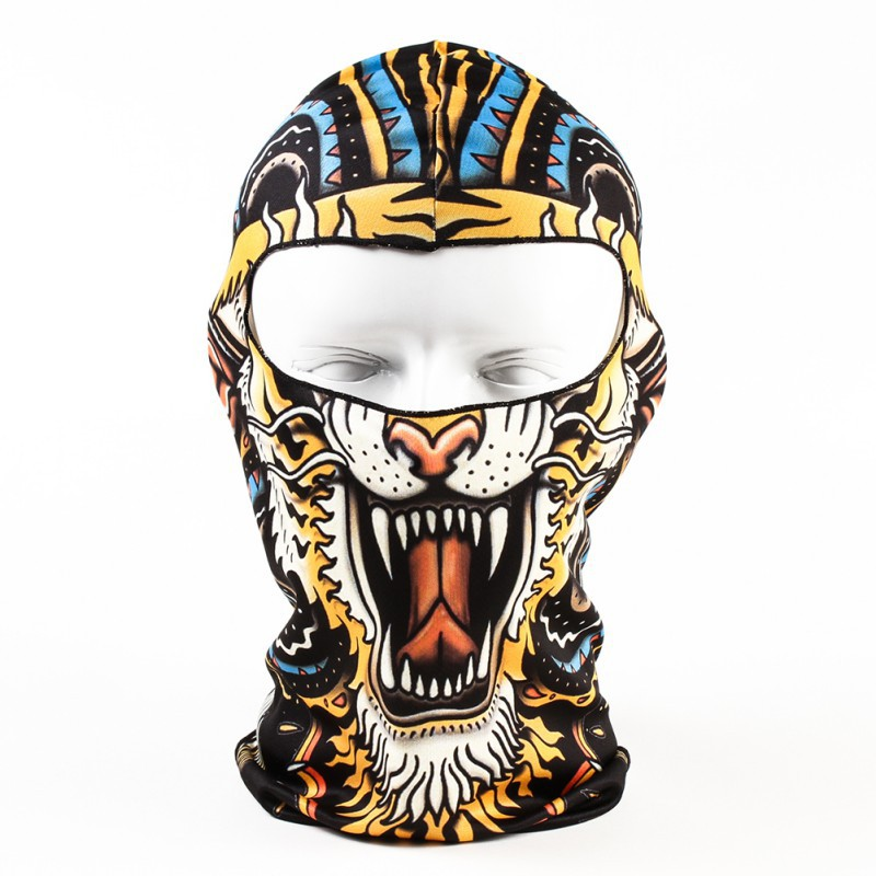 Fashion Full Face Mask Balaclava Motorcycle Sports Snood Motor Bike Mask Cover Cap