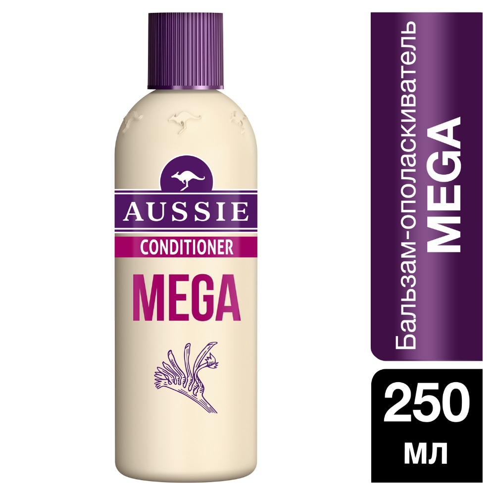 AUSSIE Mega Instant conditioner 250ml mentholatum 250ml