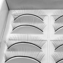 NEW 10 pairs Individual False Eyelashes Natural Training Lashes for Eyelash Extension Practicing Teaching