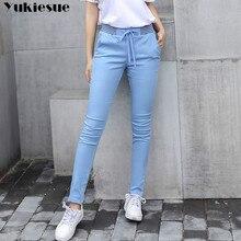 streetwear Harem pants capri trousers women linen leggings s