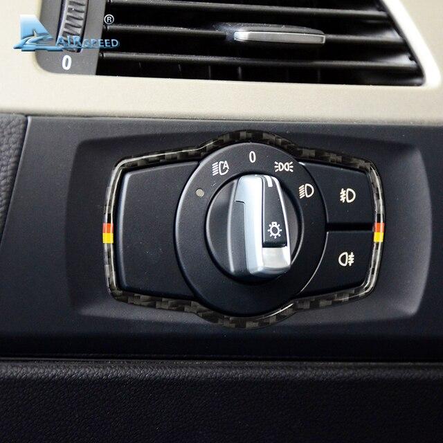 Verbazingwekkend Airspeed voor BMW E90 3 Serie Interieur Koolstofvezel Auto Koplamp HE-45