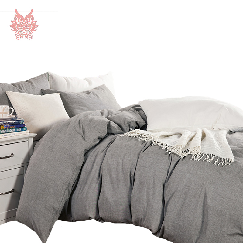 Online Get Cheap Plain Grey Comforter Aliexpress Com