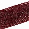 Piedra de jaspe rojo Natural 2x4mm facetada rondelle jade abacus granos flojos de alta calidad nuevas mujeres de la manera que hace joyas 15 pulgadas B573