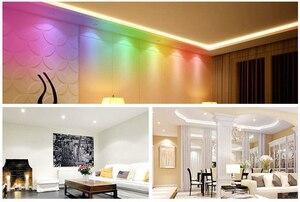 Image 5 - E27 15W zmiana koloru żarówka led lampa zdalnie sterowana RGB + biała + WW + CW + noc
