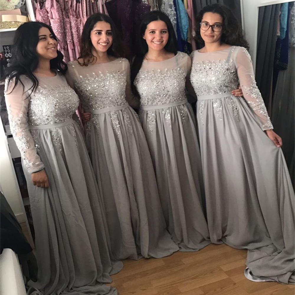 Φορέματα Βραδινά Μακρυμάνικα 2019 Σέξι - Ειδικές φορέματα περίπτωσης - Φωτογραφία 5