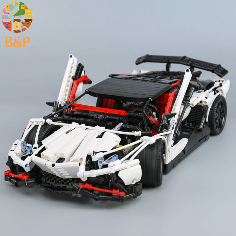 lepin Legoing 3918 2838pcs Technic Series The MOC Super Racing Car Building Blocks Brick Educational Toys For Children 23006 lepin 23006 2838pcs technic series the super racing car set moc 3918 model building block brick diy toy for children gift