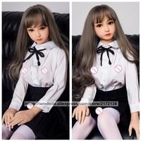 WMDOLL 150 см реалистичные силиконовые секс куклы реальные полный размер милая девушка секс кукла из тпе Японская секс кукла игрушки для взросл
