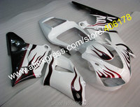 Hot Sales,Aftermarket fairing YZF1000 98 99 R1 Fairing Kit For Yamaha R1 1998 1999 Flame ABS body kits (Injection molding)