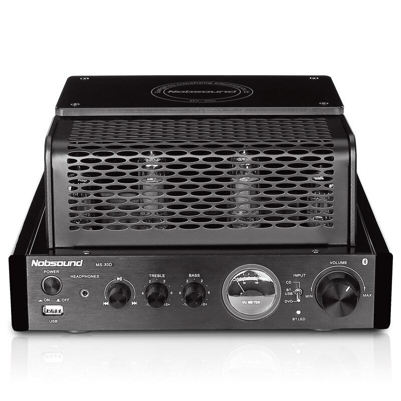 MS 30D 25 Вт + 25 Вт трубка (6N2*2 + 6P1*2) беспроводной Bluetooth/MP3/USB 3,0 Hifi транзистор усилитель мощности