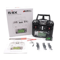 Newest Flysky FS I6X 2 4GHz 10CH RC Transmitter With I BUS IA6B X6B A8S IA10B