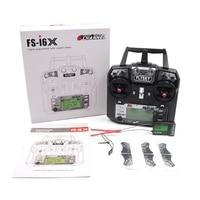 Newest Flysky FS I6X 2 4GHz 10CH RC Transmitter With I BUS IA6B X6B A8S IA10B