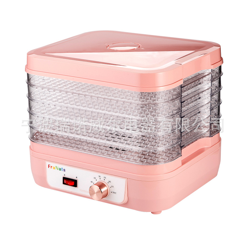 New Arrival Electric 6 Layer Fruit Dryer Machine Food Dehydrator Air Dryer Household Fruit Vegetable Meat Food Drying Tool цена