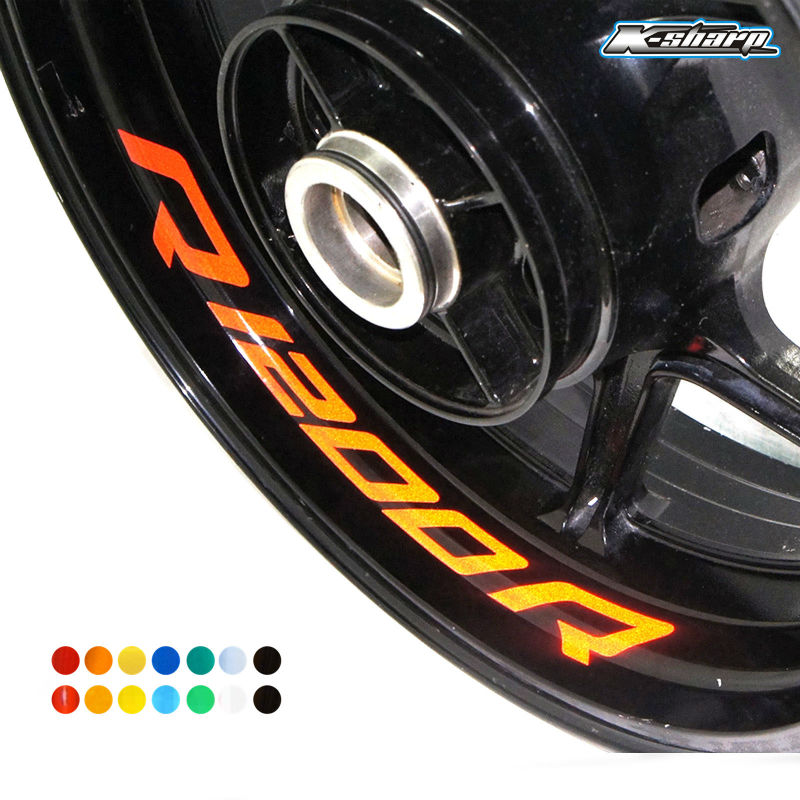 X CUSTOM INNER RIM DECALS WHEEL Reflective STICKERS STRIPES FIT - Motorcycle custom stickers and decals uk