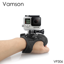 Vamson for Go Pro Accessories Diving Case 360 Degree Rotation Glove style For Gopro Hero 8 7 6 5 4 3+for Xiaomi for Yi 4k VP306