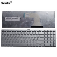 GZEELE new laptop keyboard for Acer Aspire 8950 8950G 5943G 5943 5950 5950G 8943 8943G series SILVER RU Russian replace keyboard