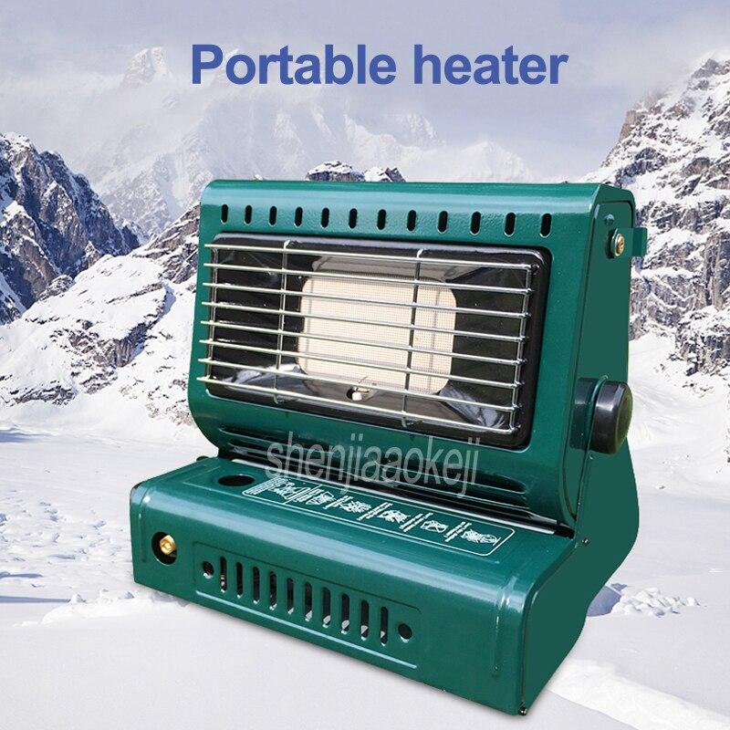 Gaz butane d'intérieur d'appareil de chauffage portatif extérieur/réchaud de chauffage de gaz liquéfié pour voyager Camping randonnée pique-nique équipement de voiture de tente
