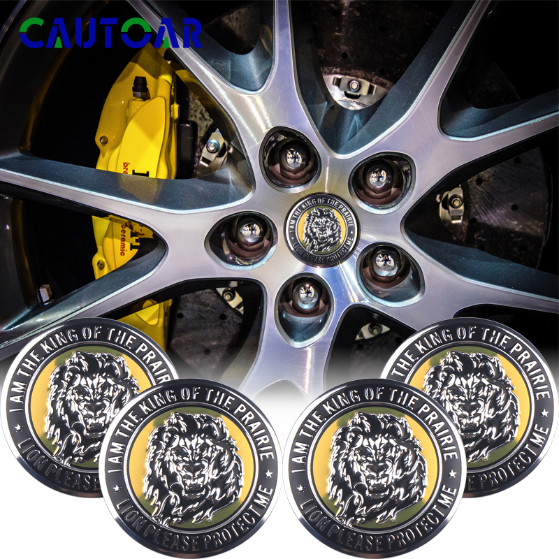 4pcs 56mm Wheel Badge Center Hub Sticker Hub Cap Stickers For VW Volkswagen R