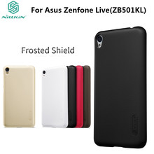 Asus Zenfone Live Case Asus ZB501KL Case NILLKIN Frosted Shield PC Plastic Back Cover For Asus Zenfone Live(ZB501KL) with Gift