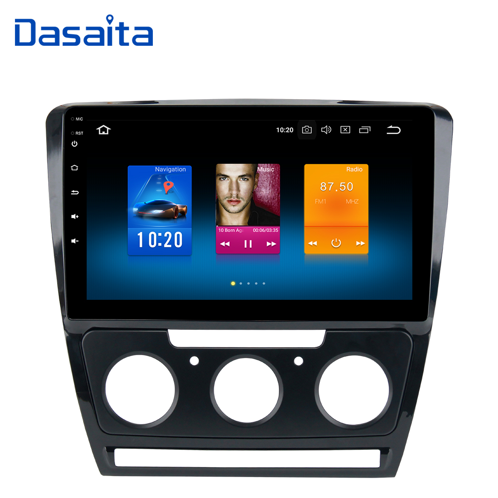Android 9 0 1Din Car Radio for Skoda Octavia DVD Player 2007 2008 2009 2010 2011