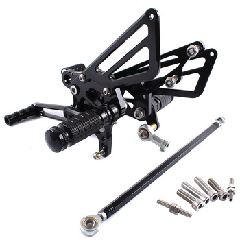 For Kawasaki Ninja ZX14R ZX-14R ZZR1400 2011 CNC Motorcycle Adjustable Rearsets Rear Sets Foot Pegs Pedal Foot Rests