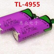 10 шт для тадиран TL-4955 2/3AA ER14335 14335 3,6 V литиевая батарея plc с булавками может заменить TL-5955 TL-2155 TL-6955